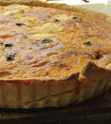Goat's Cheese, Sage And Butternut Squash Tart