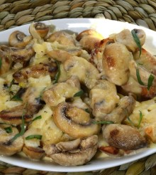 Champion Cheese Mushrooms