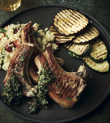 Griddled Lamb Cutlets