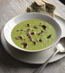 Pea, Chilli and Mint Soup