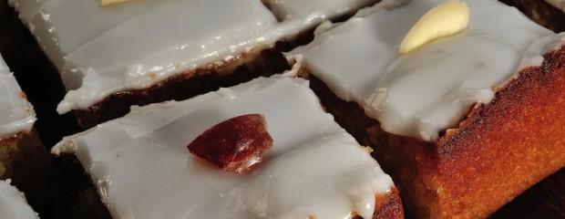 Iced Lemon Flatcake (Gluten-free)