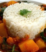Chickpea, Spinach and Sweet Potato Curry