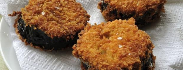 Aubergine Satay Burger