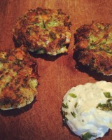 Courgette and Feta Fritters