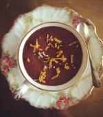 Salted Dark Chocolate and Orange Mousse
