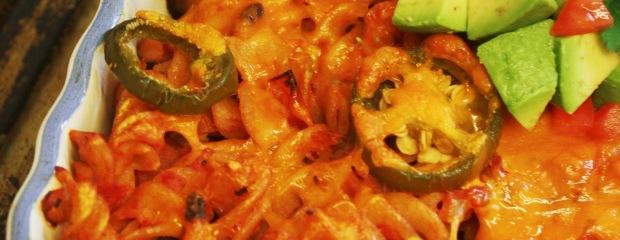 Mexican Sausage Pasta Bake