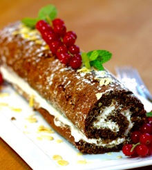 Jamaican Ginger Roulade
