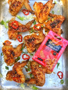 Korean BBQ Chicken Wing Recipe