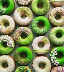 Matcha Tea Donuts